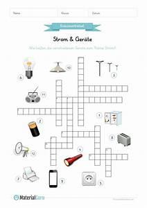Ein Kunstleder Kreuzworträtsel : ein kostenloses arbeitsblatt auf dem die kinder ein kreuzwortr tsel rund um das thema strom ~ Eleganceandgraceweddings.com Haus und Dekorationen