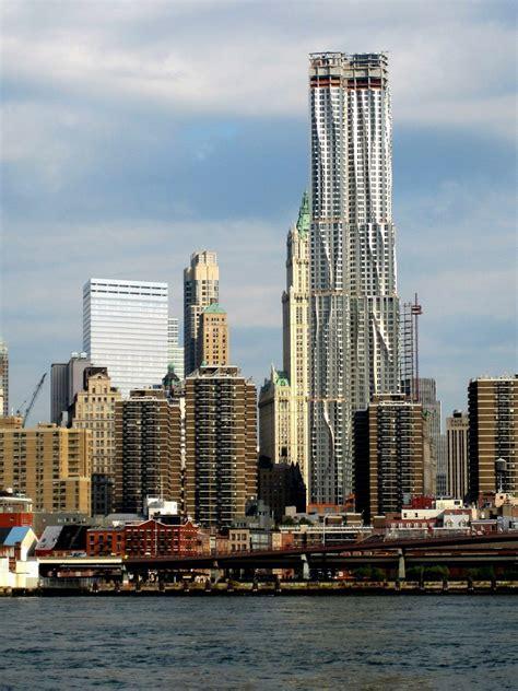 beekman tower gehrys downtown skyscraper buildipedia