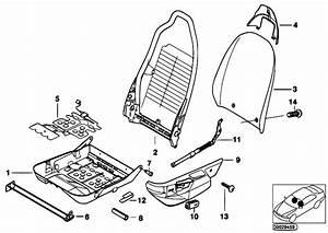Original Parts For Z3 Z3 M3 2 S50 Roadster    Seats   Bmw
