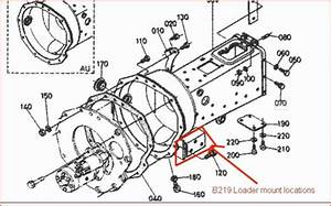 B219 Loader From B6100 Manual Tranny Fit B7100 Hst - Orangetractortalks