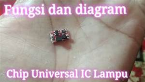 Chip Universal Ic Lampu  Fungsi Dan Diagram