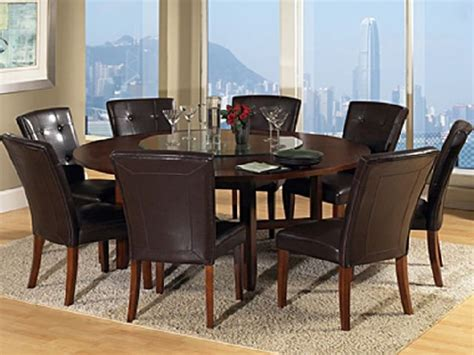 Round Dining Room Table For 8 Extendable Dining Room