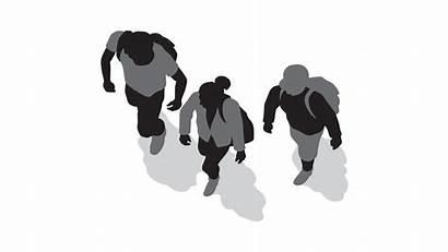Walking Plan Silhouette Homo Sapiens Human Clipart