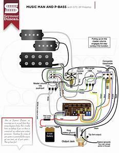 Seymour Duncan Active Pickups Wiring Diagram