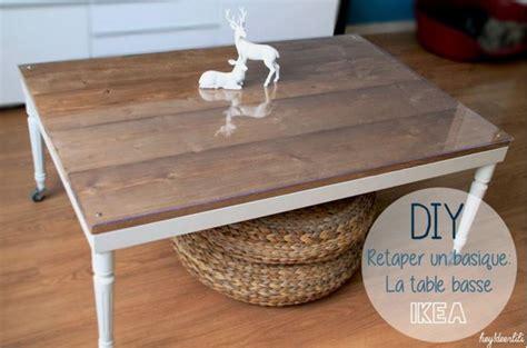 relooker table de cuisine idées diy 7 façons de customiser une table ikea lack