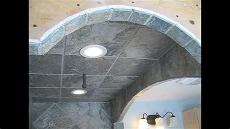 diagonal tile bathroom shower stall