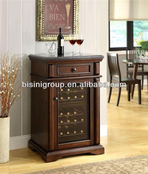 bisini mini wooden electric wine refrigerator bf