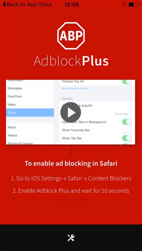 adblock safari iphone adblock plus the world s most popular ad blocker lands