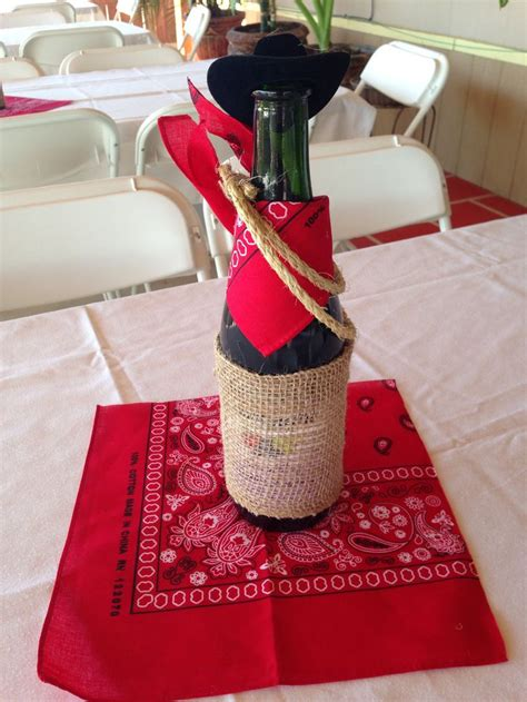 western party centerpieces ideas  pinterest