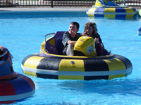 Fast Bumper Boats by Ten Adventures For Your Family In Denver Colorado