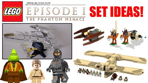 lego ideas 2018 lego wars episode 1 the phantom menace set ideas 2018 lego wars set ideas