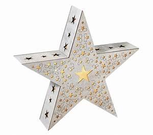 Led holz stern mit sternen design o 34cm mit folie for Markise balkon mit sterne tapete die leuchtet