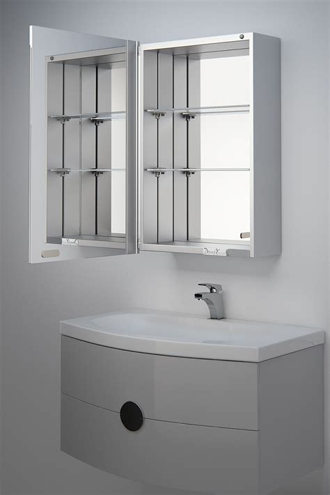 Mirrored Bathroom Cabinet by Alban Mirrored Bathroom Cabinet Mirror H 600mm X W 400mm