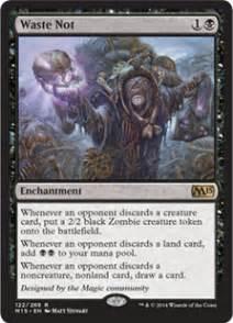 waste not magic 2015 core set gatherer magic the