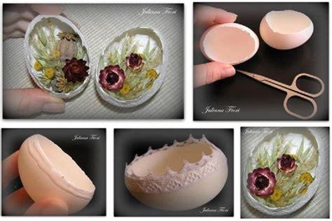 diy easter lace eggs tutorial usefuldiycom
