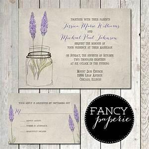 mason jar wedding invitations canada weddingpluspluscom With lavender wedding invitations canada