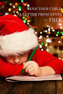how to send your child a letter from santa santa With send your child a letter from santa