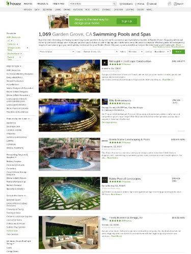 houzz  build  perfect backyard pool pool pricer