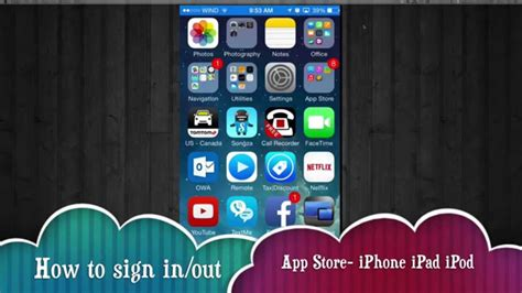 how to out apps on iphone how to log out sign in different apple id app iphone