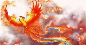 18 Phoenix Artworks The Flaming Bird Design