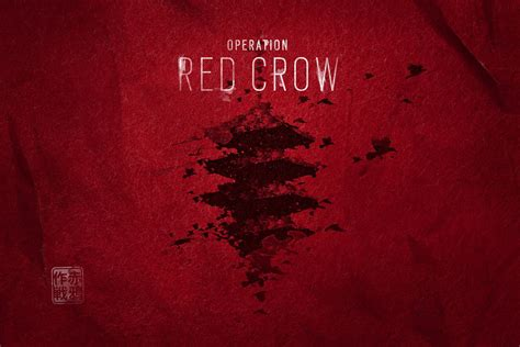 rainbow  siege operation red crow   release date