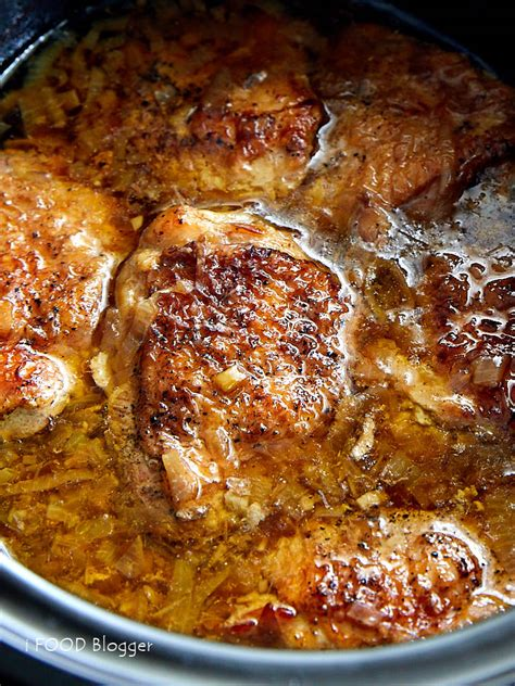 rustic slow cooker chicken i food blogger