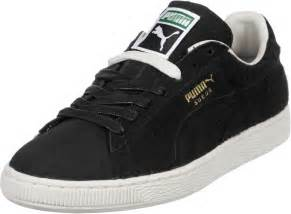 Black Suede Puma Shoes