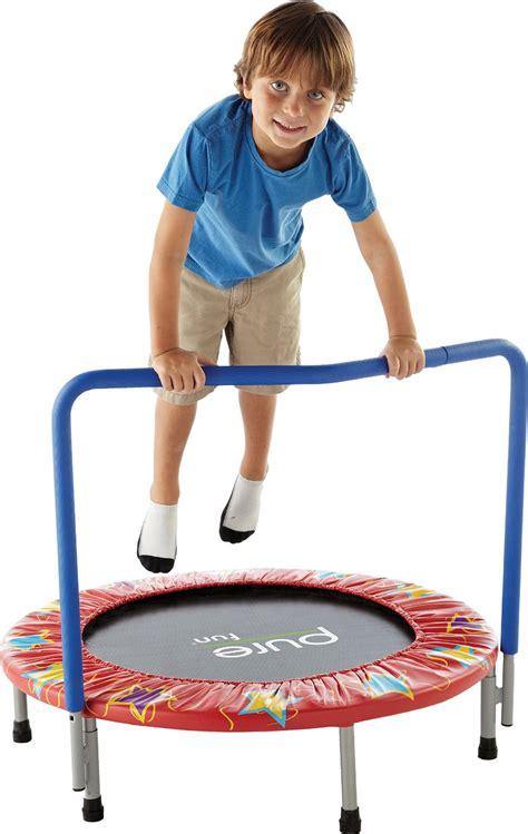 top 10 best toddler trampoline reviews your guide 2019 943 | Pure Fun 36 Inch Kids Mini Trampoline
