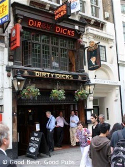 dirty dicks liverpool street pub review good beer