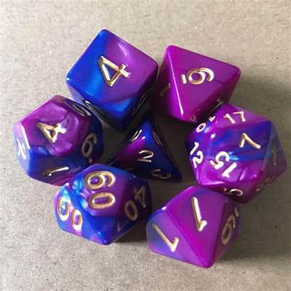 Dice Polyhedral Rpg D20 Multi Roller Acrylic