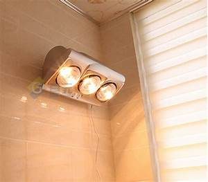 Wall Mounted 2 Lamps Bathroom Heater  Lsa633
