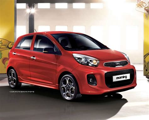 2015 Kia Picanto / Kia Morning Facelift Breaks Cover In