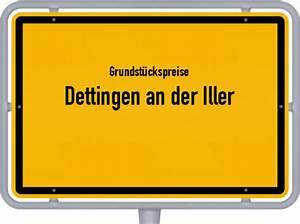 Grundstückswert Berechnen : grundst ckspreise dettingen an der iller 2018 ~ Themetempest.com Abrechnung
