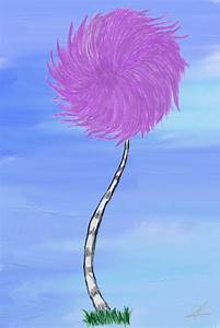Lorax Trees Cake Ideas and Designs