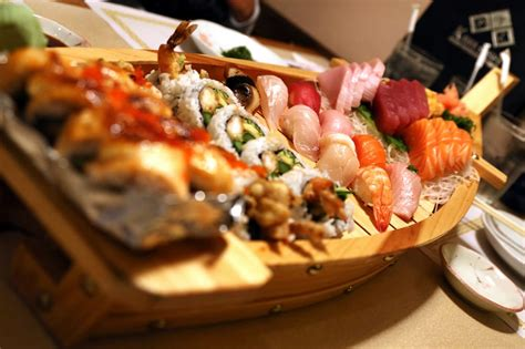 Boat Sushi by Japanese Sushi Boat Www Pixshark Images Galleries