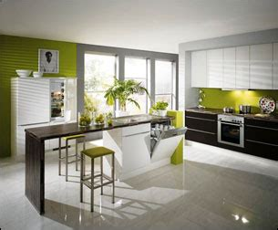 peinture cuisine vert anis cuisine actuelle cuisine moderne cuisine design
