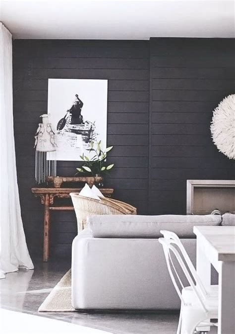 Black Beadboard Paneling by Black Painted Beadboard Paneling Contrast Light Floors