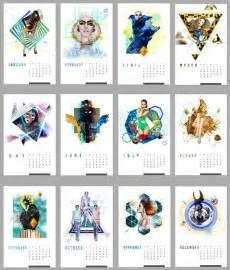 calendar design 25 new year 2014 wall desk calendar designs for inspiration