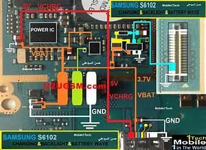 Samsung S6102 Schematic Diagram