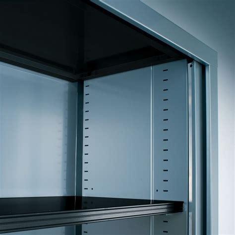 gc bureau armoire haute à rideaux gc uni l 60 lemondedubureau