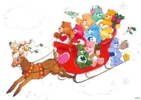 107 Best Kp Care Bears Christmas Images On Pinterest