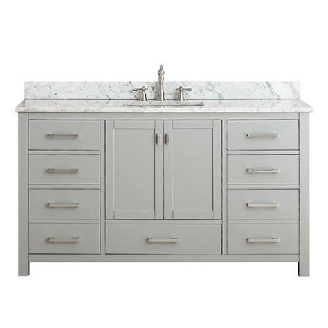 60 Inch Sink Vanity Without Top by Bellacor Item 1570507 Image