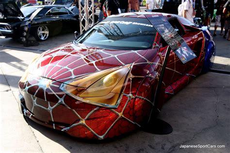 toyota custom cars 2000 custom toyota celica quot spider man car quot picture