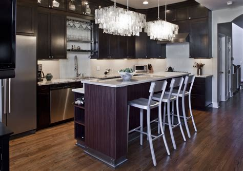 kitchen island chandeliers 24 rectangular chandelier designs decorating ideas