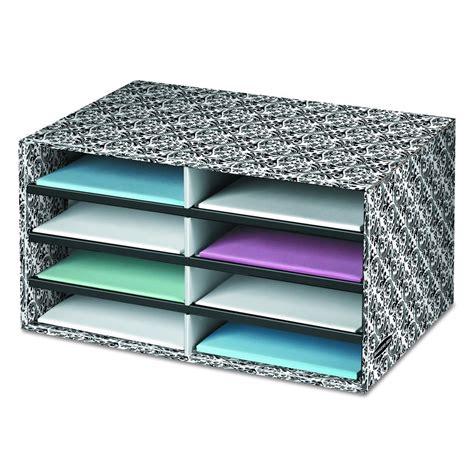 box decorative literature sorter letter organizer drawer