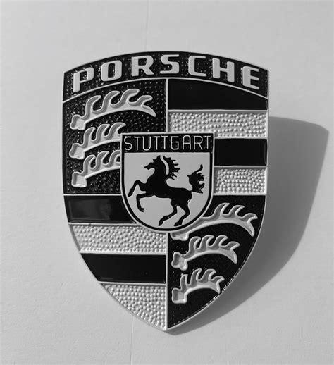 porsche hood emblem custom  models