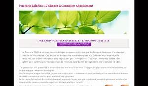 Pueraria Mirifica Avis : adresse et avis sur le bottin ~ Medecine-chirurgie-esthetiques.com Avis de Voitures