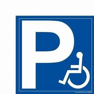 Panneau Stationnement Handicapé : panneau p symbole handicap 350x350mm pvc accessibilit handicap s pmr encaissement ~ Medecine-chirurgie-esthetiques.com Avis de Voitures