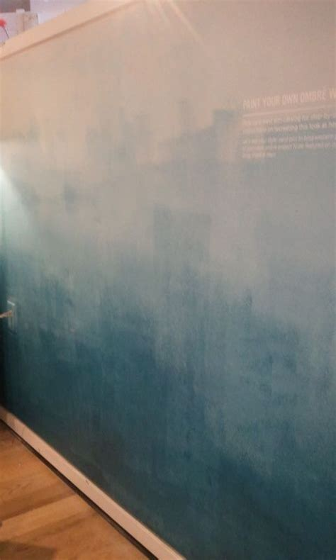 ombre wall westelm making   home pinterest