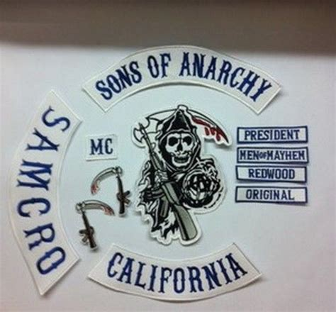 sons of anarchy patches are quot sons of anarchy quot patch sets prohibited items the